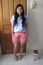 H&M shorts - Muji shirt