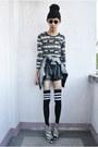 Black-bcg-shorts-black-rebel-gear-accessories-black-asianvogue-shop-wedges