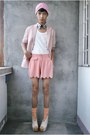 Bubble-gum-paporma-blazer-bubble-gum-thrifted-shorts
