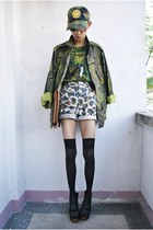 Punk-x-Pretty hat - Punk-x-Pretty jacket - Impulse Co bag - Punk-x-Pretty shorts