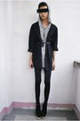 Black-soule-phenomenon-boots-dark-gray-hanii-w-leggings