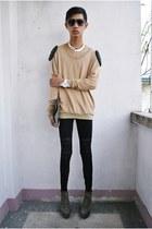Primadonna boots - gifi clothing bag - Swatch x Jeremy Scott watch