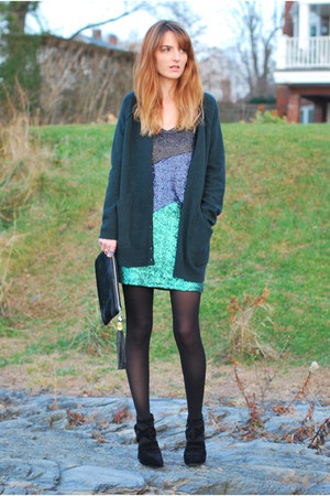 blue sequin asos dress