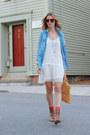 Brown-ankle-boots-jcrew-boots-white-drop-waist-vintage-dress