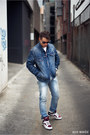 Blue-dark-blue-denim-levis-jacket-511-levis-jeans