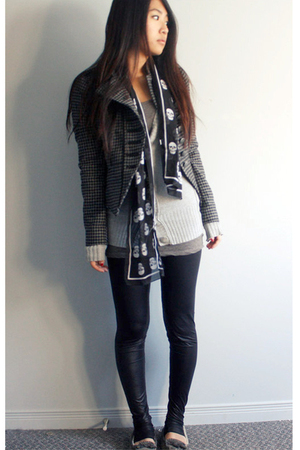 Zara jacket - H&M leggings