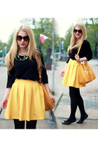 yellow PresKA skirt