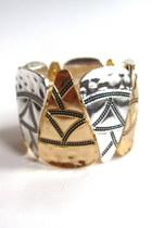 tribal triangle bracelet