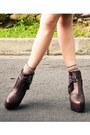 Dark-khaki-mango-blouse-tawny-zara-shirt-dark-brown-soule-phenomenon-boots-