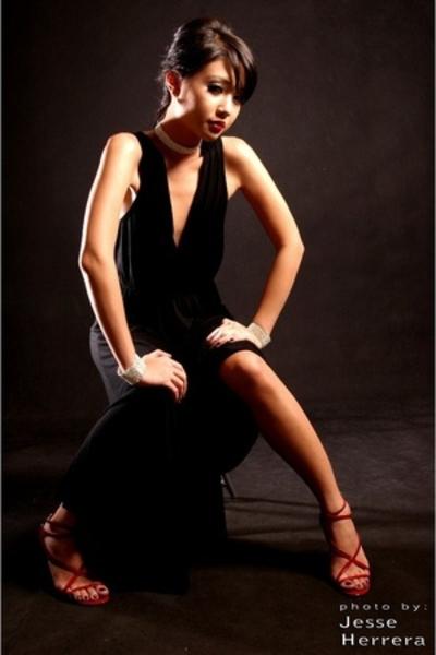 Mango dress - Nine West shoes - Cartier bracelet - Cartier necklace