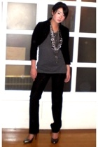 ilaya blazer - Zara blazer - sm department store top - Zara pants - Aldo shoes -