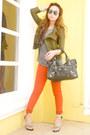 Burnt-orange-zara-jeans