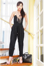 Black-louis-vuitton-bag-black-highwaist-moonshine-pants-black-tube-zara-top