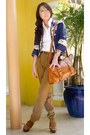 Jessica-blazer-mango-pants-zara-shoes-topshop-bag-vintage-italian-belt-