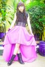 Black-combat-tieup-from-rockwell-bazaar-boots-amethyst-glitterati-skirt