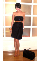 gianfranco ferre skirt - neiman marcus belt - Trunk Show shoes - bracelet - Loui