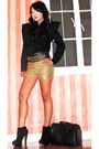 Gold-h-m-shorts-black-rockwell-bazaar-blouse-black-glitterati-belt-black-t