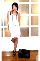 Tango dress - My collection necklace - I LOVE YOU STORE accessories - Zara shoes