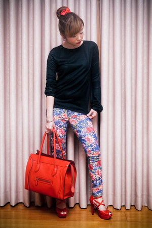 blue floral denim copykat ph jeans