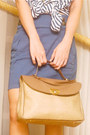 Beige-nautical-rope-so-fab-wedges-tan-satchel-nina-ricci-bag