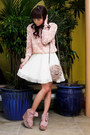 Light-pink-mesh-rosette-zara-sweater-light-pink-rosette-sling-topshop-bag