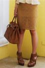 Camel-lace-forever-21-skirt-tan-peplum-undernourished-manila-top