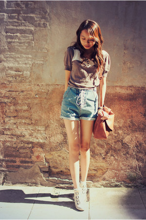 jeans romwe shorts