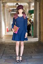 Dsquared2 hat - vivetta dress - Paula Cademartori bag - Schield accessories