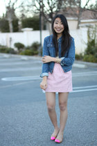 light pink Zara skirt