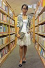 Navy-stripes-mango-blazer-army-green-zara-bag-ivory-lace-skirt-zara-skirt