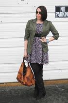 jacket - purse