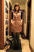 pink Lush dress - purple H&M top - purple kensie shoes