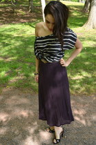 vintage top - Urban Outfitters skirt - Nine West heels