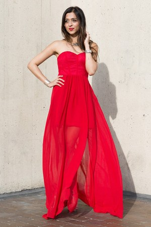 red luluscom dress