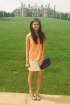 ivory mini skirt Francescas Collection skirt
