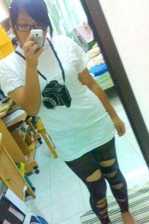 t-shirt - leggings