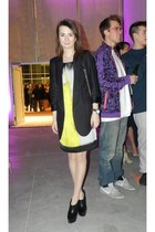 H&M Trend dress - bano eemee blazer - Aldo wedges