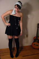 American Apparel dress - Wet Seal necklace - American Apparel accessories - Hot