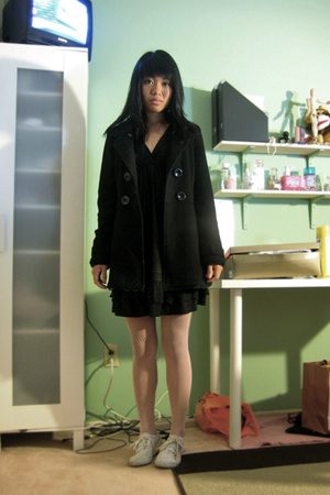 Betsey Johnson tights - dress - Gentle Fawn coat - Puma shoes