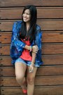 Zara-shorts-haze-top-promod-top-guess-heels