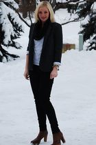stuart weitzman shoes - Urban Outfitters blouse - BDG pants - Urban Outfitters s