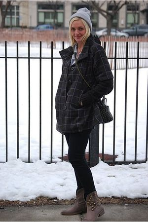 BDG by Urban Outfitter pants - Anthropologie coat - olivia harris purse - Jeffre