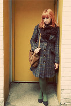 modcloth coat - Target tights - Urban Outfitters scarf - Urban Outfitters purse