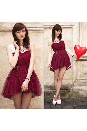 red Chicwish dress