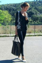 Zara jacket - Mango bag - Vero Moda top