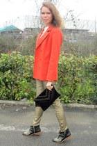 Zara boots - Zara jeans - H&M blazer - ALLO by Kateryna bag - Zara necklace