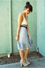Tan-suede-ankle-asos-boots-brown-luxla-bracelet-periwinkle-fluffy-urban-natu
