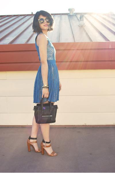 lace cutout beginning boutique dress - Mimi Boutique bag