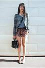 Dark-gray-tweed-zara-jacket-black-mimi-boutique-bag