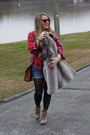 Charcoal-gray-target-shoes-light-brown-forever21-coat